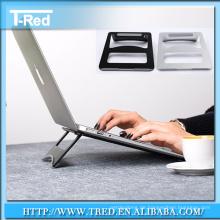 Aluminiumtabletts stehen Halter Unterstützung für Notebook elektronisches Gerät