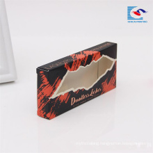 cheap folding eye lashes mink 3d paper packaging box