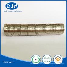 N42 Starke runde Permanentmagnete für elektronische Bauteile