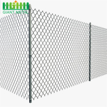 Galvanized Diamond Wire Mesh Used Chain Link Pagar