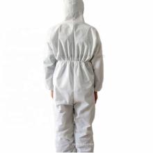 Traje desechable de aislamiento químico protector para todo el cuerpo