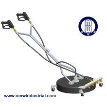 """Limpiador rotativo de doble hilera de 24 """"con ruedas giratorias"""