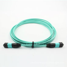 MTP/MPO Om3 12cores Fiber Optic Patchcord