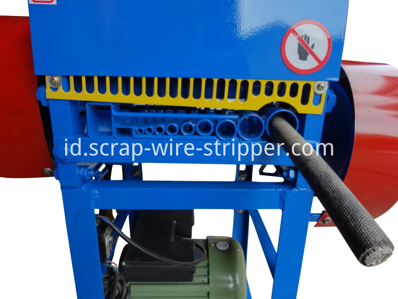 portable wire stripping machine