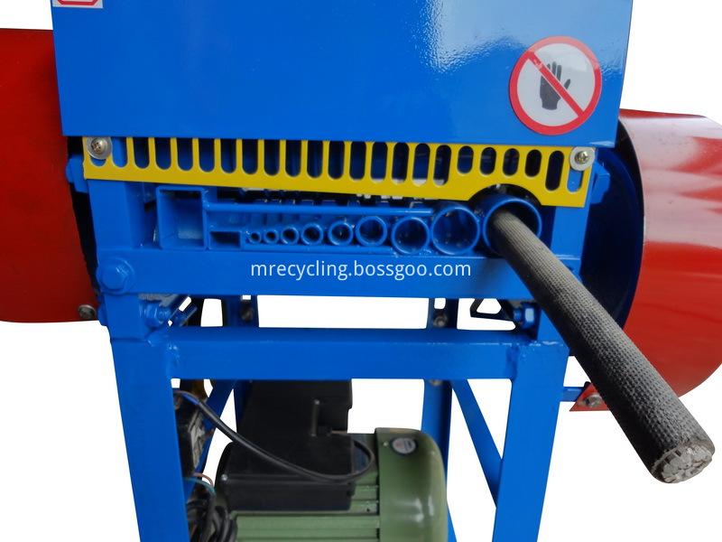 portable wire stripping machine