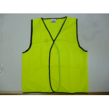Class D High Visibility Vest Without Reflective Tape