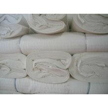тканые 100% хлопок серый ткани для окрашивания