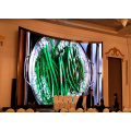 Black Mask Indoor Curved LED Display