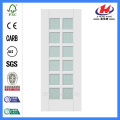 *JHK-G22 Pre Painted White Interior Doors Arched French Doors Interior White Laminate Cabinet Doors