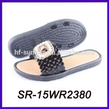 summer outdoor pvc air blow slipper pvc strap slipper pvc slipper