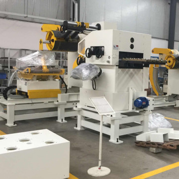 Nc Press Coil Feeder Straightener Mesin Uncoiler
