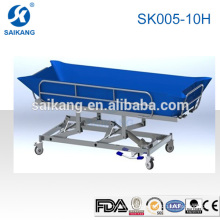 SK005-10H Medical Treatment Hydraulic Shower Bath Bed