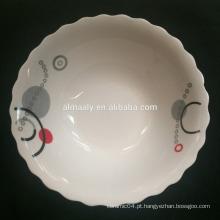 """Tigela de salada de cerâmica de porcelana de 4,5 """""""