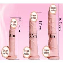 Productos al por mayor del sexo de la alta calidad de los consoladores del silicón para la mujer