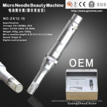 Stylo de machine de thérapie de Derma Microneedle pour le rajeunissement de peau