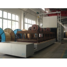 Heat treatment bogie hearth type annealing furnace