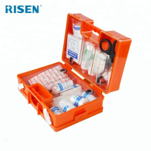 Kit de primeiros socorros de emergência da família de caixa de plástico abs