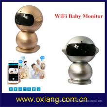 Monitor de bebê inteligente sem fio da câmera Monitor de vídeo de bebê WiFi