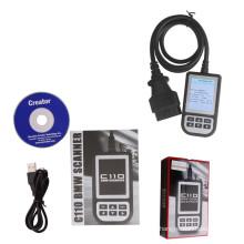 Creator C110 actualización Online Scanner Obdii C110 V4.3