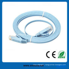 CAT6 Flat Patch Cable Available in Various Lengths and Colors
