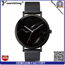 Yxl-285 Promotion Waterproof Wrist Watch Marble Face Lady Vogue Watch Fashion Leather Casual Charming High Quality Watch Factory