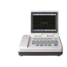 Máquina de ECG, ECG Holter Touchscreen Ce do canal 12 derivações doze