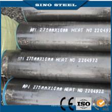 St44 ASTM A53 / A106 Gr. Tubo de aço carbono B Tubo de aço sem costura