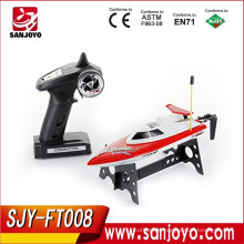 Hot selling! High Speed 4CH FT008 2.4G RC Boat Toys cheap rc boats