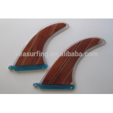 colorful design swim fins surf fins/wood surfboard fin