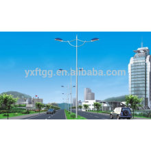 5M Galvanized Street Steel Lamp Post
