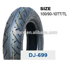 vente en gros de pneus tubeless moto de haute qualité 100/90-10