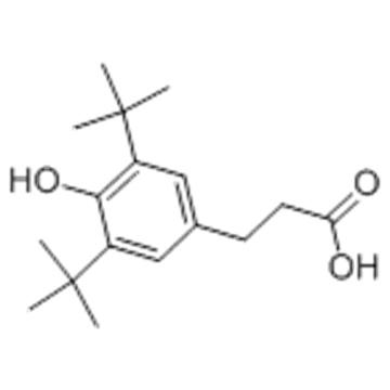 3-(3,5-Di-tert-butyl-4-hydroxyphenyl)propionic acid CAS 20170-32-5