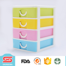 Practical multifunction plastic drawer storage cabinets for hotting sale