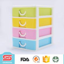 Практическая многофункциональный пластиковый ящик шкафы для хранения накаляются продажи