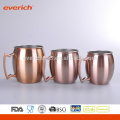 2016 Promotional High Quality S/S Copper Mugs Wholesale