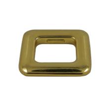 Metal Zinc Alloy Gold Square Buckle