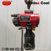 Polipasto de malacate eléctrico mínimo de la construcción 500kg de la alta calidad