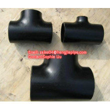 Carbon steel pipe tee SCH40 butt weld fittings
