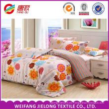 Tela de cama de algodón de las señoras vendedoras calientes calientes