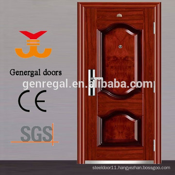 Security grade modern front entry 50mm 70mm steel doors