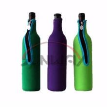 Neopreno aislados vino bolsa de refrigerador, enfriador de botellas, titular de la botella (BC0065)