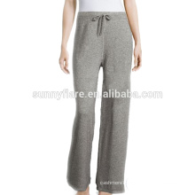 Elegant Grey Color Girls Cashmere Pants Wholesales