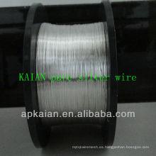 Hebei anping KAIAN 99.99 alambre de plata puro usado en laboratorio