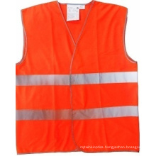 High-Visible Workwear Safety Vest with ANSI/107 Standard