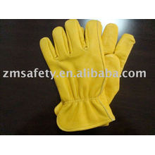 Golden cow grain driver glove