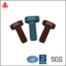 M8 carbon steel lacquer bolt