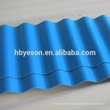 Alta qualidade, o melhor preço !! Folha de telhado de cor! Folha de cobertura de cor revestido! Folha de telhado ondulado da cor! Feito na fábrica de China