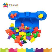 Kinder pädagogische Plastik Balance Spielzeug für Klassenzimmer (K032)
