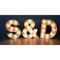 Nouveau signe de lettre fait sur commande d'ampoule de panneau de lettre de la Manche LED