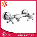 two handle shower faucet and bath mixer surface mounted shower faucet